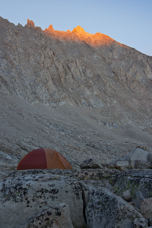 Campers and Alpenglow